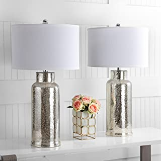 Safavieh Lighting Collection Bottle Glass Bronze 29-inch Table Lamp (Set of 2)