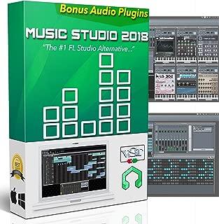 Music Studio 2018: Music Production Software - Best Audio Recording & Editing Software for Windows, Mac, & Linux + Audio Plugins, Tutorials & Guides Bundle