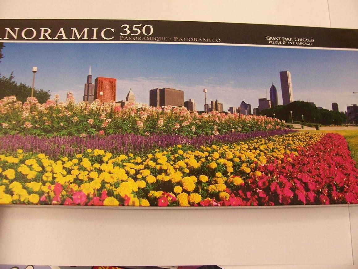 Panoramic 350 Piece Puzzle ~ Grant Park, Chicago