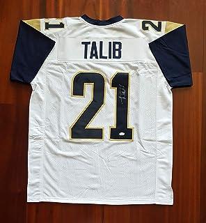 Aqib Talib Signed Autographed Jersey Los Angeles Rams JSA PROVA
