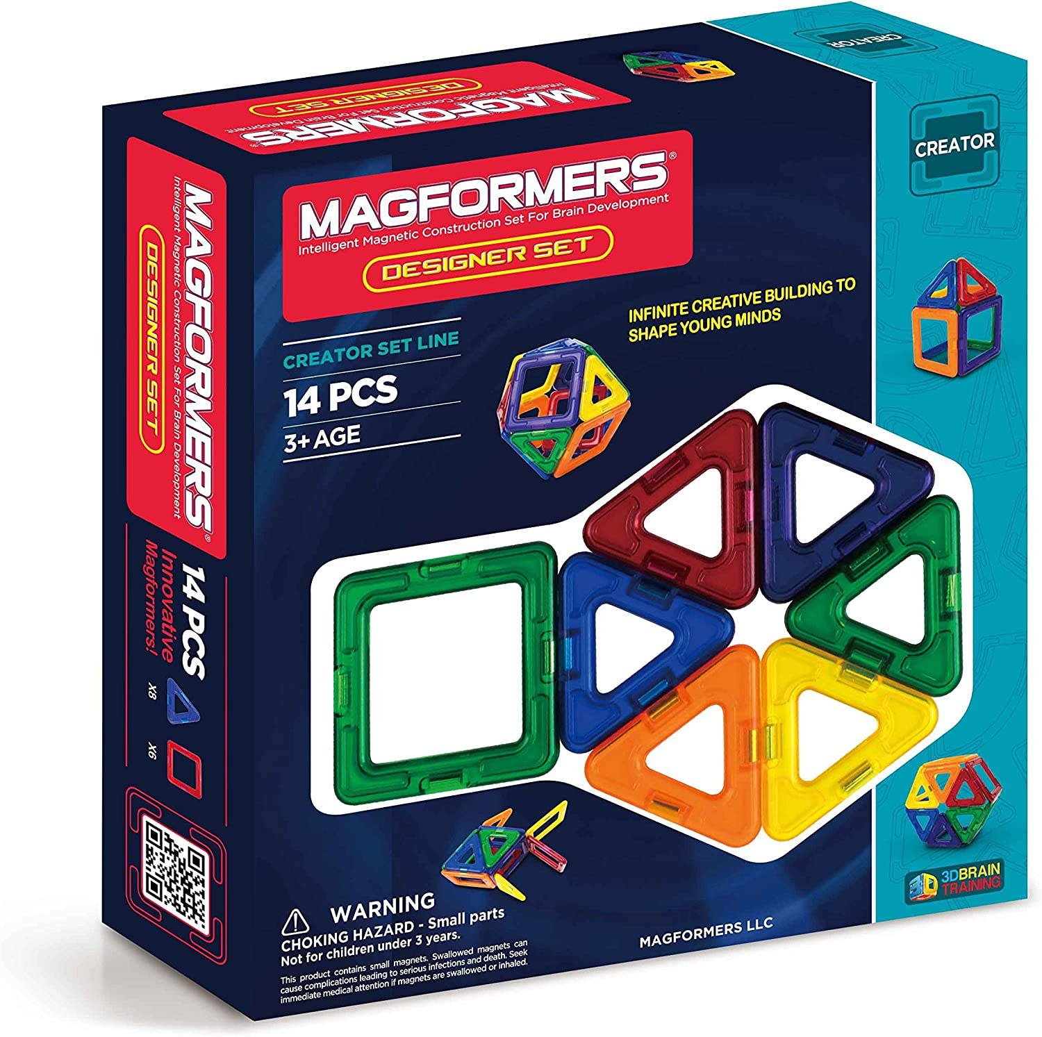Magformers Creator Designer Set Building 14-Pieces Max 85% OFF National uniform free shipping Magnetic Bl
