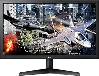LG 24 inch Gaming Monitor UltraGear Full HD with 144Hz refresh rate, 1ms MBR, Radeon FreeSync, Customized Game Mode, Black...