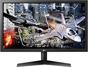 LG UltraGear 24GL600F-B 24 Inch Full HD Gaming Monitor with Radeon FreeSync Technology, 144Hz Refresh Rate, 1ms Response Time (2019) - Black