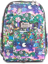 JuJuBe x Tokidoki Backpack, Mini Be | Travel Friendly, Compact, Lightweight Small Kids Backpack with Padded Adjustable Straps | Camp Toki