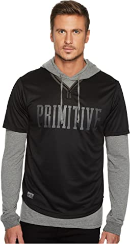 Primitive - Twofer Baseball Hood Sweater