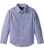 Polo Ralph Lauren Kids - Gingham Cotton Poplin Top (Toddler)