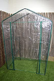 Green Blade Walk in Garden Greenhouse with Shelving GH250 - Funda de jardín