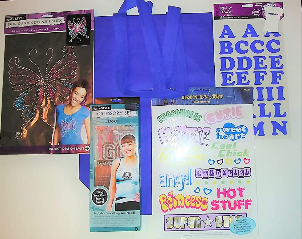 Glitter and More Bling Your Own Attire Iron On Accessory Bundle