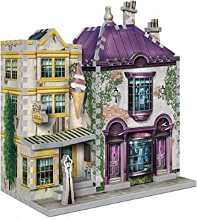 Wrebbit 3D - Harry Potter Madam Malkin's and Florean Fortescue's Ice Cream 3D Jigsaw Puzzle - 290 Pieces