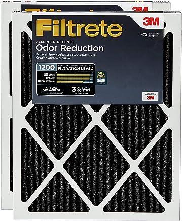 Filtrete 16x25x1, AC Furnace Air Filter, MPR 1200, Allergen Defense Odor Reduction, 2-Pack