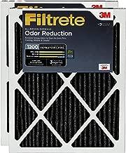 Filtrete MPR 1200 20x20x1 AC Furnace Air Filter, Allergen Defense Odor Reduction, 2-Pack