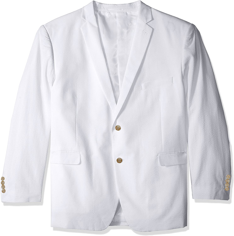 U.S. Polo Assn. Men's Two-Button Nested Seersucker Suit
