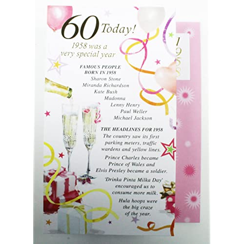 Personalised 60th Birthday Cards Amazon Co Uk