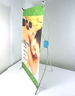 Super-Supply @ Mini Desktop Tabletop Countertop X-banner Stand Graphic Size from 8