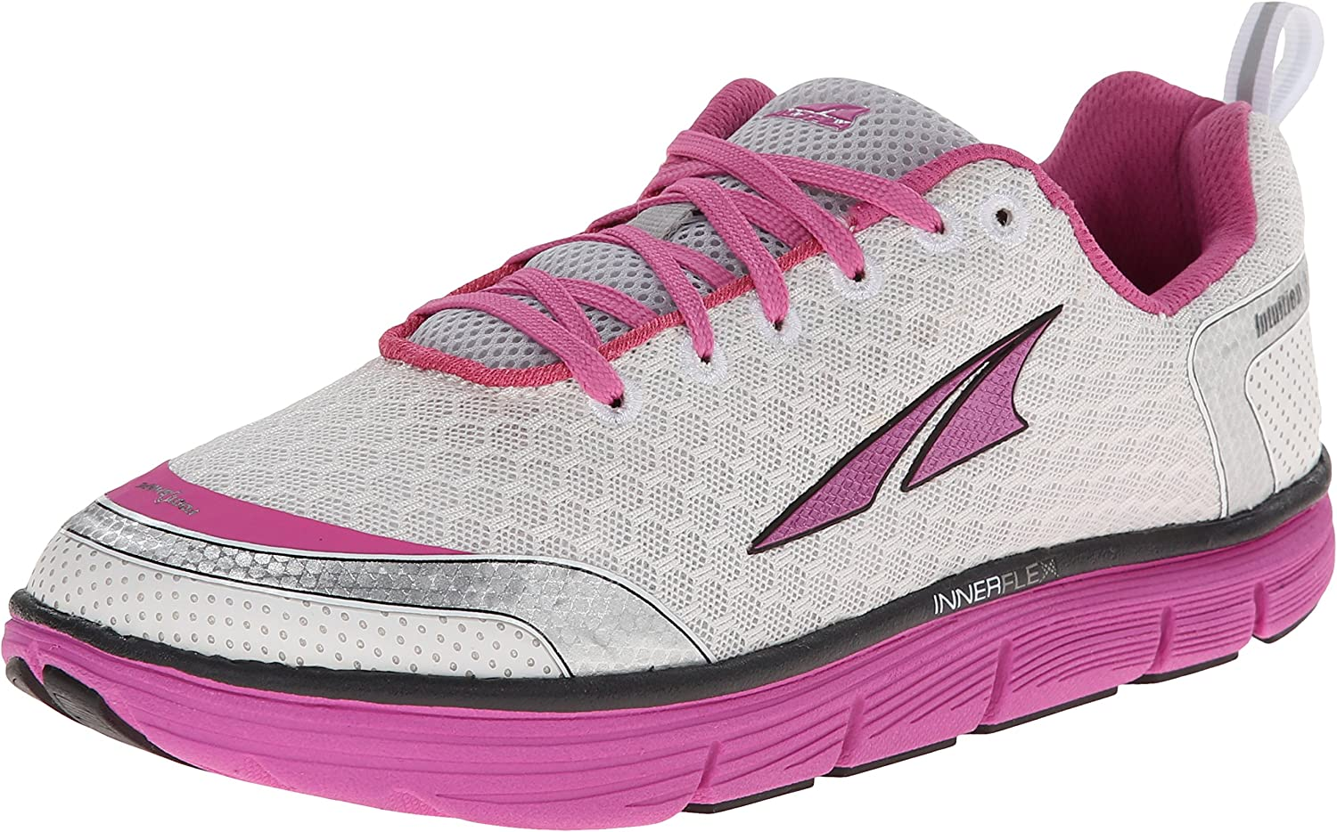 Altra Running Womens Intuition 3 Fitness Running shoes, Silver Pink, 75 M US