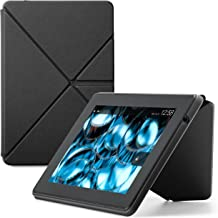 Amazon Kindle Fire HD Standing Polyurethane Origami Case (only fit 3rd generation), Mineral Black
