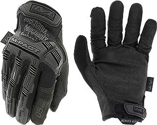 Mechanix Wear: M-Pact 0.5mm High-Dexterity Covert Tactical Work Gloves (Large, All Black)