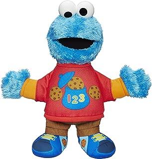 Sesame Street Talking 123 Cookie Monster Figure
