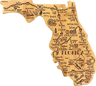Totally Bamboo Florida State Destination Bamboo Serving and Cutting Board