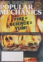 Popular Mechanics September 2019 Fire + Science = Yum