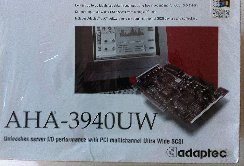 Genuine Free Shipping Adaptec AHA-3940UW Price reduction PCI Multichannel SCSI Hardware Controller