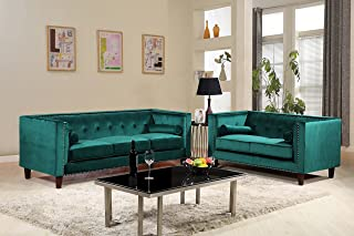 Amazon.com: Green - Living Room Sets / Living Room Furniture: Home ...