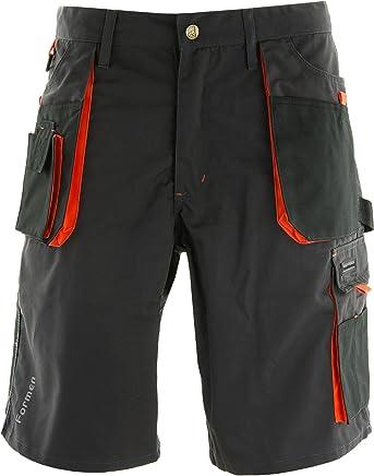 Grigi Pantaloni Corti da Lavoro per LEstate NITRAS Motion Tex Bermuda