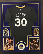 stephen curry framed jersey