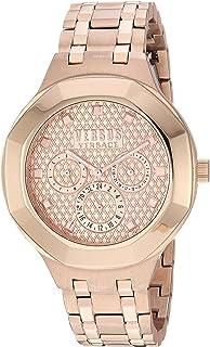 """Versus by Versace Women 's""""LAGUNA City cuarzo tono y chapado en oro reloj Casual (modelo: vsp360617)"""