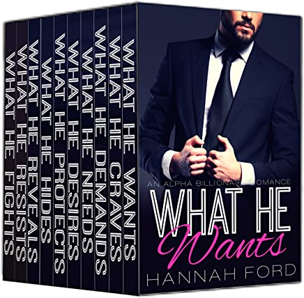 What He Wants (Books 1-10 Box Set) - Kindle edition by