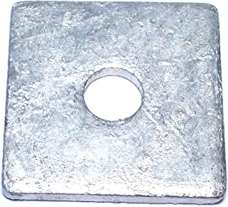 Size: 1-1//4 inch 70pcs 1 1//4 Square Beveled Malleable Washer Hot Dip Galvanized HDG