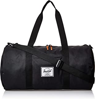 Herschel Unisex-Adult Sutton Mid-Volume Duffle Bag, Black - 10251