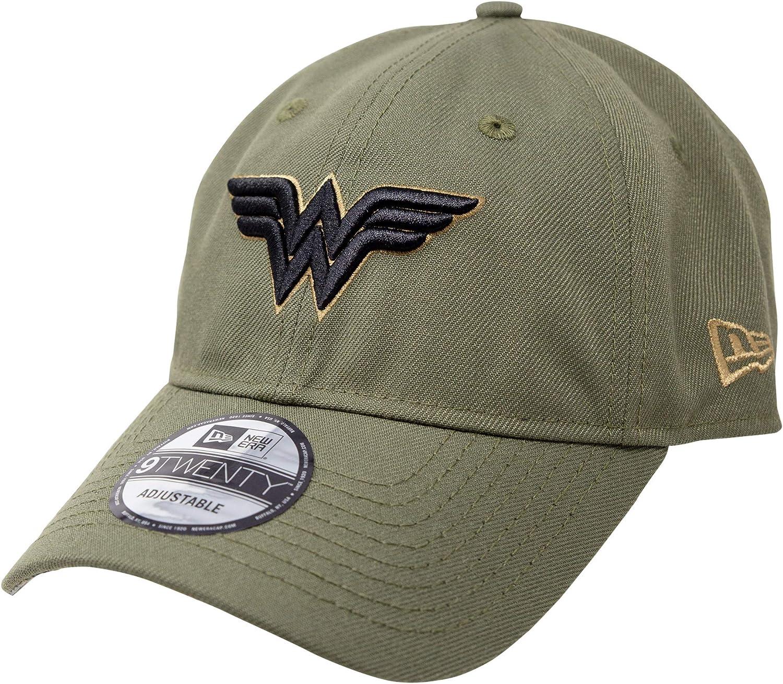 New Era Wonder Woman Salute to Service 9Twenty Adjustable Hat Green