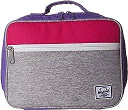 Light Grey Crosshatch/Raspberry Sorbet/Aster Purple