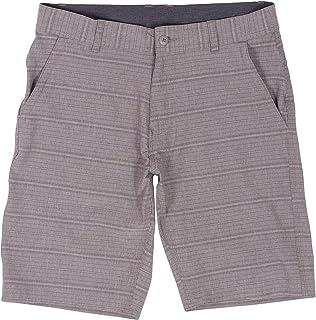 Hybrid Shorts for Men Quick Dry Stretch Lightweight Golf Plaid Short/Boardshort