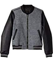 Blank NYC Kids - Wool Bomber in Own The Night (Big Kids)