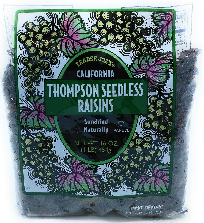 Award Trader Joe's - California Thompson Seedless Raisins Sundried Nat Mesa Mall