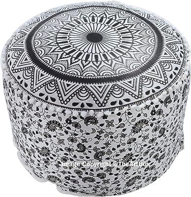 Amazon Com Big Joe Lux Cube Amp Ottoman In Union Gray