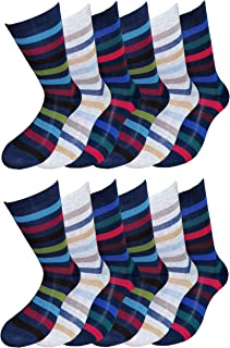 Fontana Calze, Fontana calcetines, 12 pares de calcetines tribunal Niño Chico de cálido Algodón elástico. producto Italiano