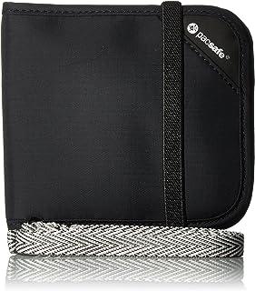 Pacsafe Rfidsafe V100 Anti-Theft RFID Blocking Bi-fold Wallet, Black (Black) - 10556100