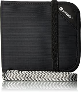 Pacsafe Rfidsafe V100 Anti-Theft RFID Blocking Bi-fold Wallet