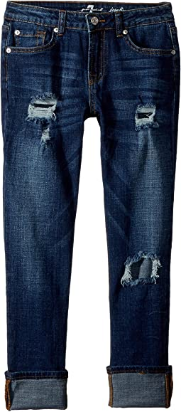 7 For All Mankind Kids Josephina Boyfriend Jeans in Duchess (Big Kids)