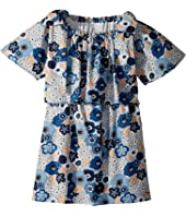 Chloe Kids - Mini Me Floral Print Knots Details (Big Kids)