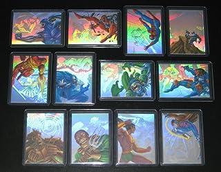 1995 Marvel Flair Annual Holoblast Insert Set of 12 Cards NM/M X-Men, Spider-Man