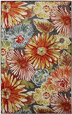 Mohawk Home Charm Floral Printed Area Rug, Multicolor