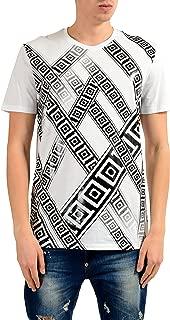 Collection Men's White Graphic Print T-Shirt US L IT 52
