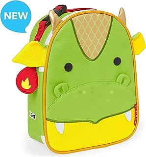 Skip Hop Zoo Kids Insulated Lunch Box, Dillion Dragon