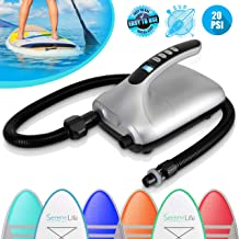 inflatable stand up paddle board electric pump