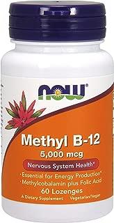 NOW® Methyl B-12, 5000 mg, 60 Lozenges