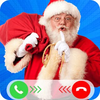 Incoming Video Call From Evil Santa Claus